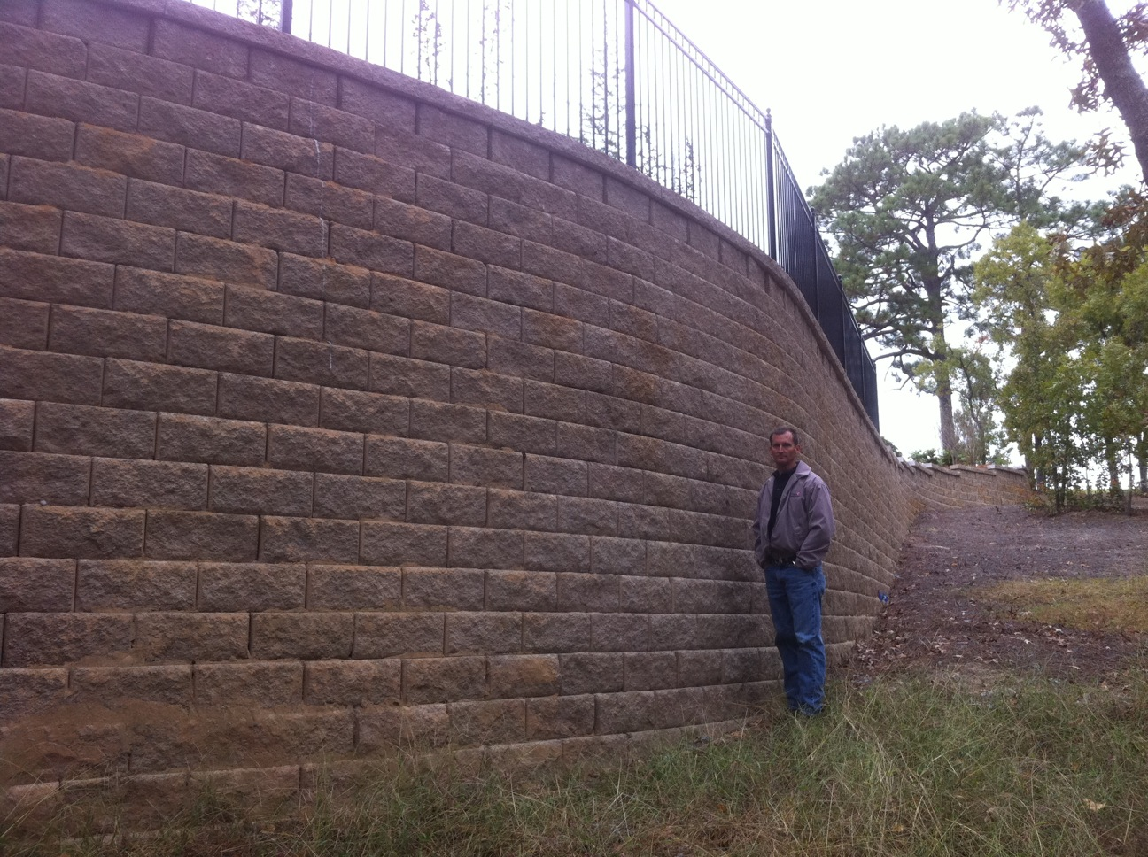 Retaining Walls Bmb Irrigation